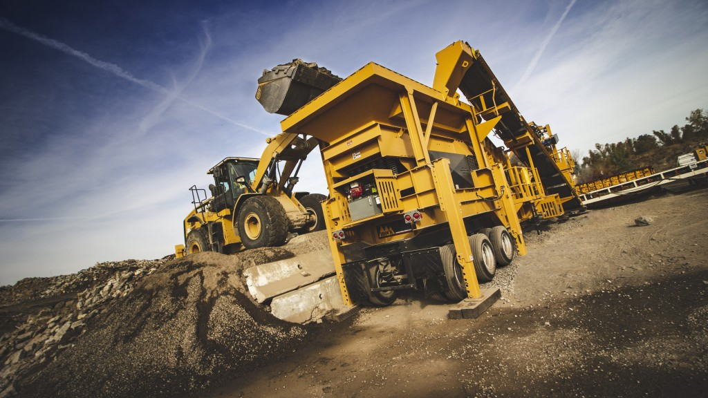IRock Crushers RDS-20 at work in a mine