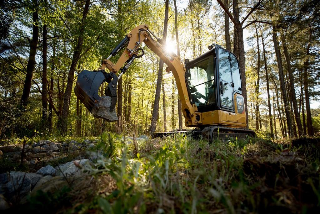 Cat 301.8 Mini Excavator
