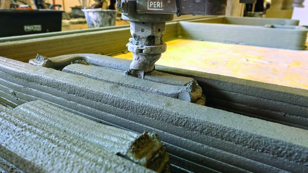 Peri 3D construction printer