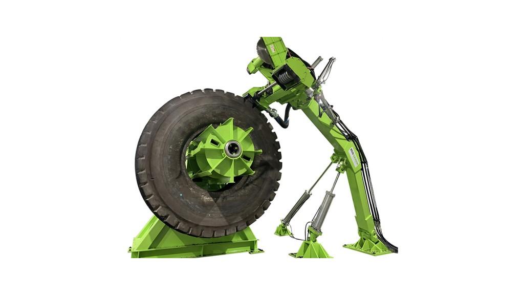 EcoRazor 63 rubber remover equipment