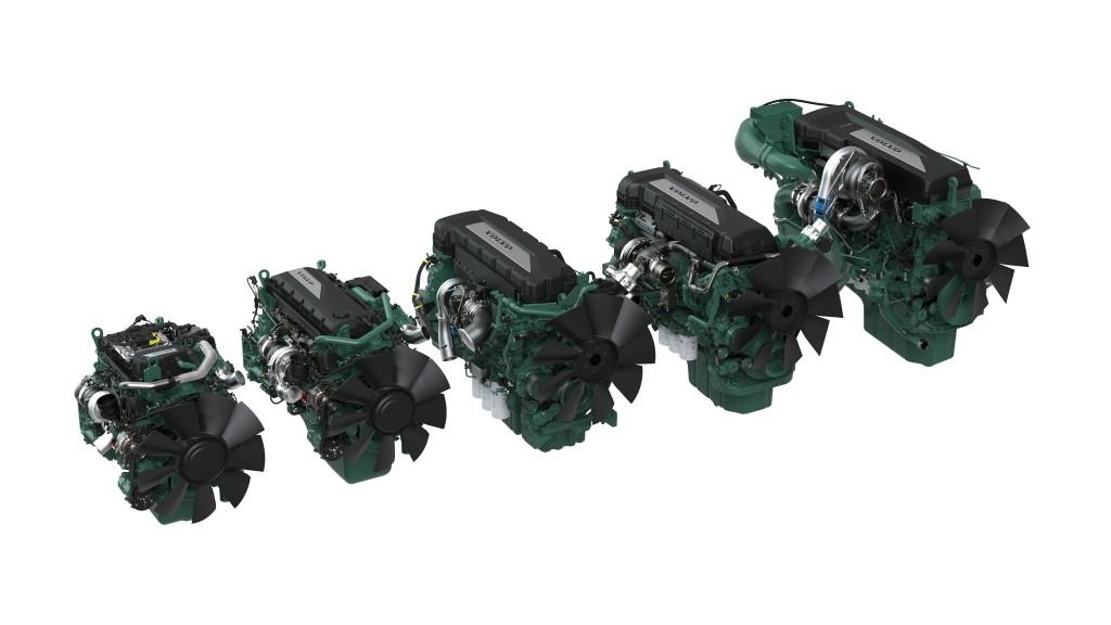Volvo Penta array of Diesel engines