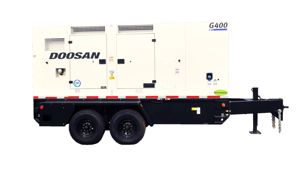 Doosan Portable Power releases first generators compliant with all Canadian regulations