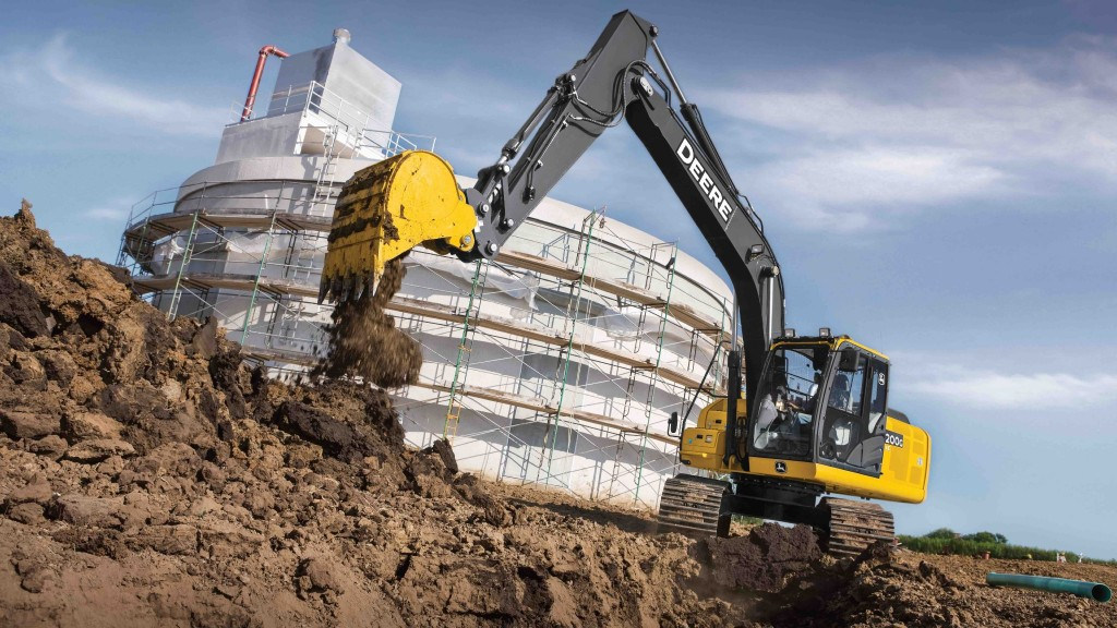 John Deere introduces the 200G model to its excavator lineup.
