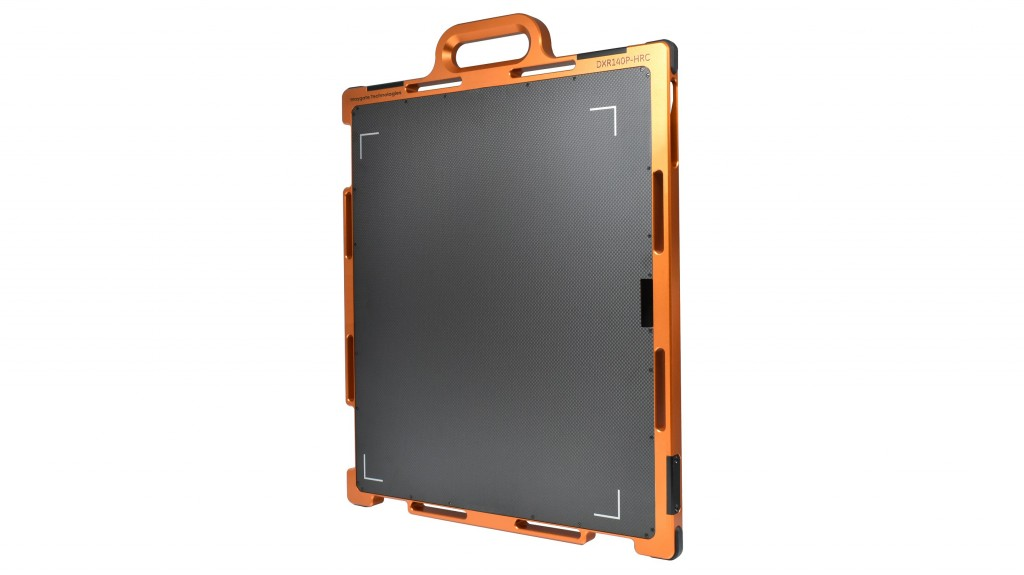 portable DXR140P-HC X-ray detector from Waygate Technologies