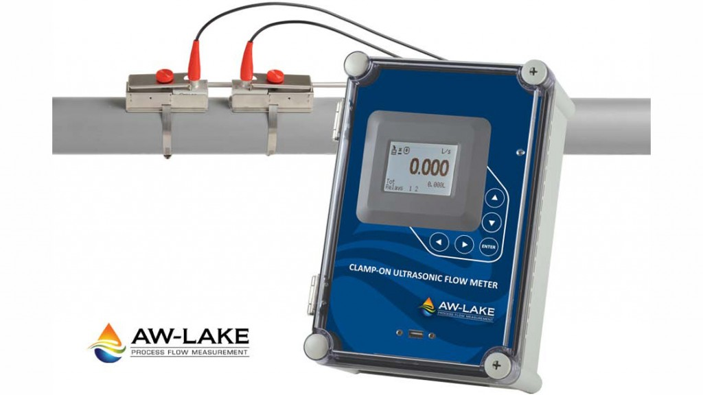 Clamp-On Ultrasonic Flow Meters from AW-Lake