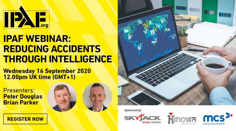 IPAF to hold webinar on importance of reporting workplace accidents