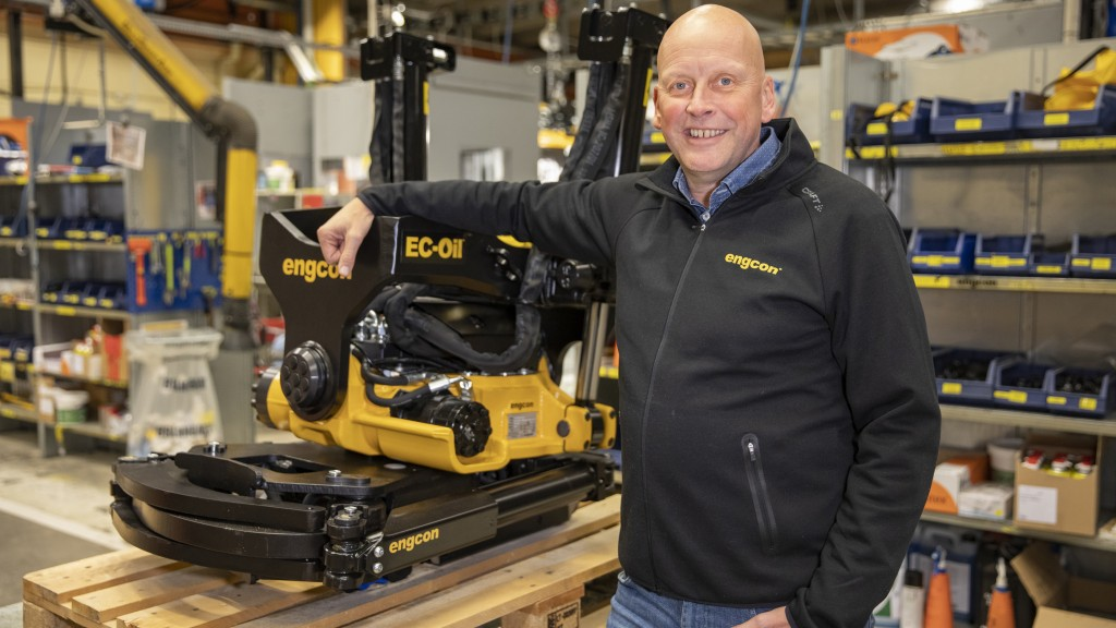 Krister Blomgren, CEO of Engcon Group