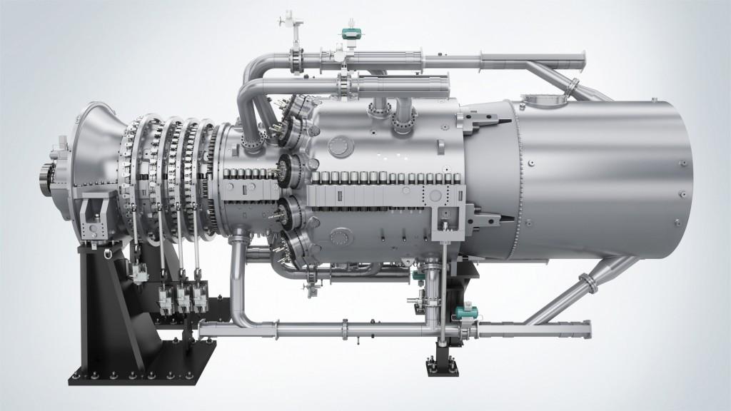 Siemens The SGT6-8000H gas turbine