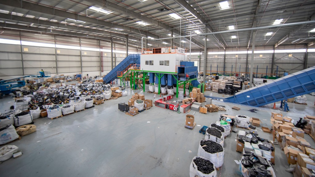 enviroserve recycling plant in Dubai
