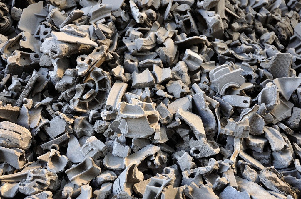 An innovative method for aluminium recycling has been boosted by research showing the microscopic changes that take place when molten alloys cool.