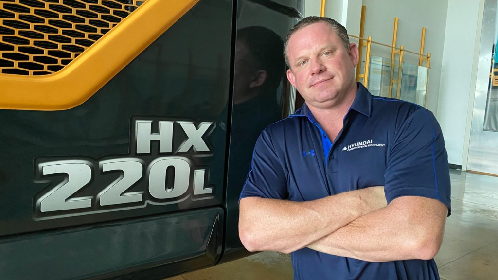 Mike Fuller, new Hyundai Construction Equipment Americas hire