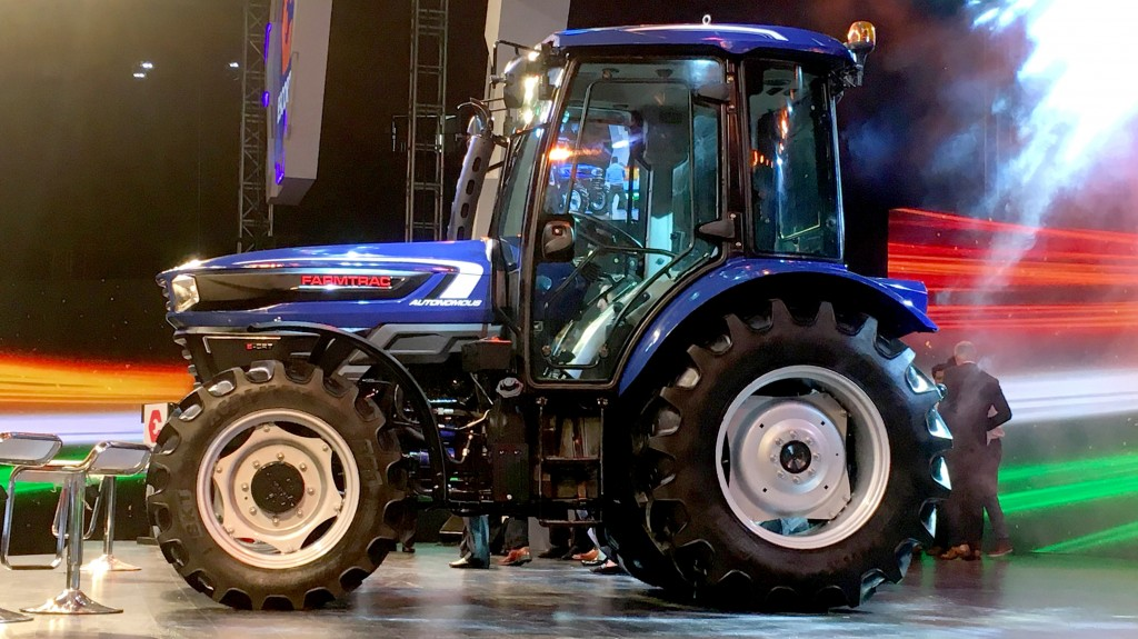 BKT's automated concept tractor