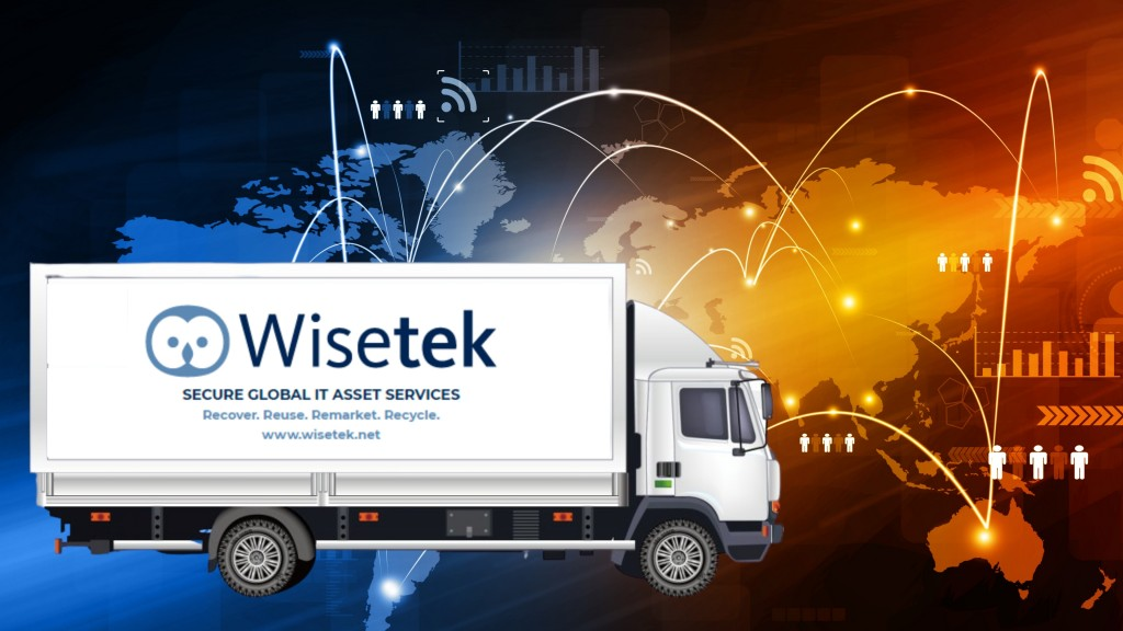 Wisetek IT asset recovery service infographic