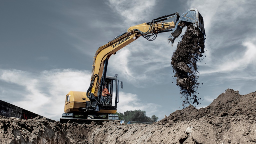 LiuGong North America has introduced a new 9-tonne midi-excavator, the 909ECR.
