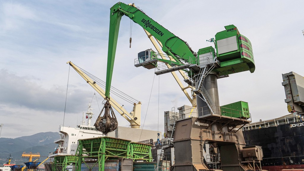 World's largest electric-powered, dedicated scrap handler proving itself at Turkish port