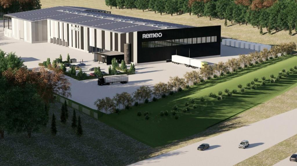 New Zen Robotics facility