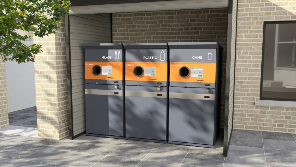 Tomra S1 Rugged reverse vending machine