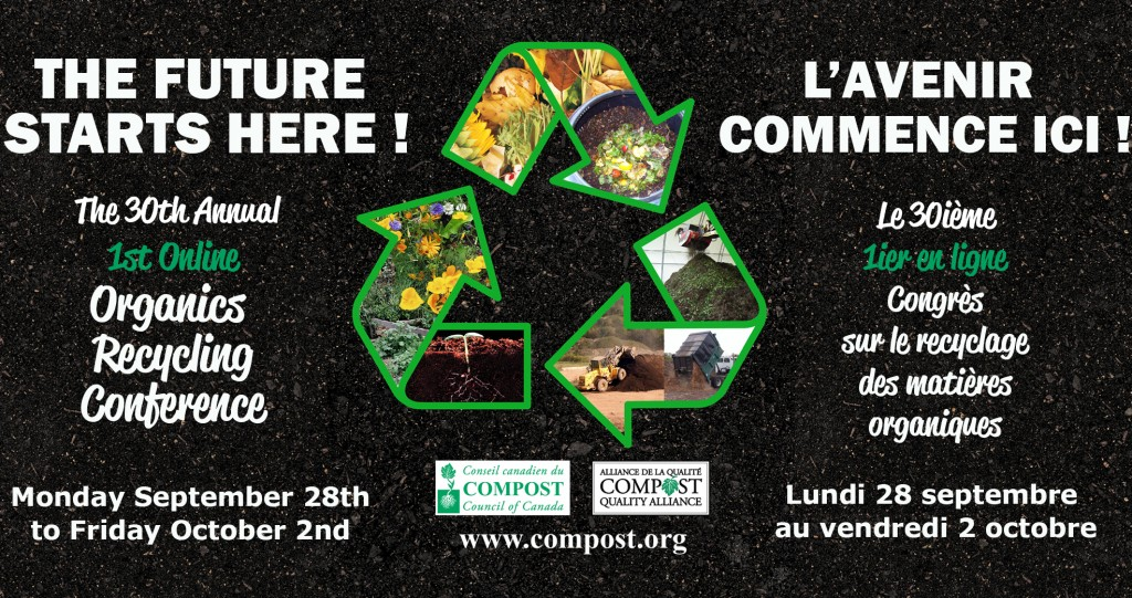 compost council of canada event infographic