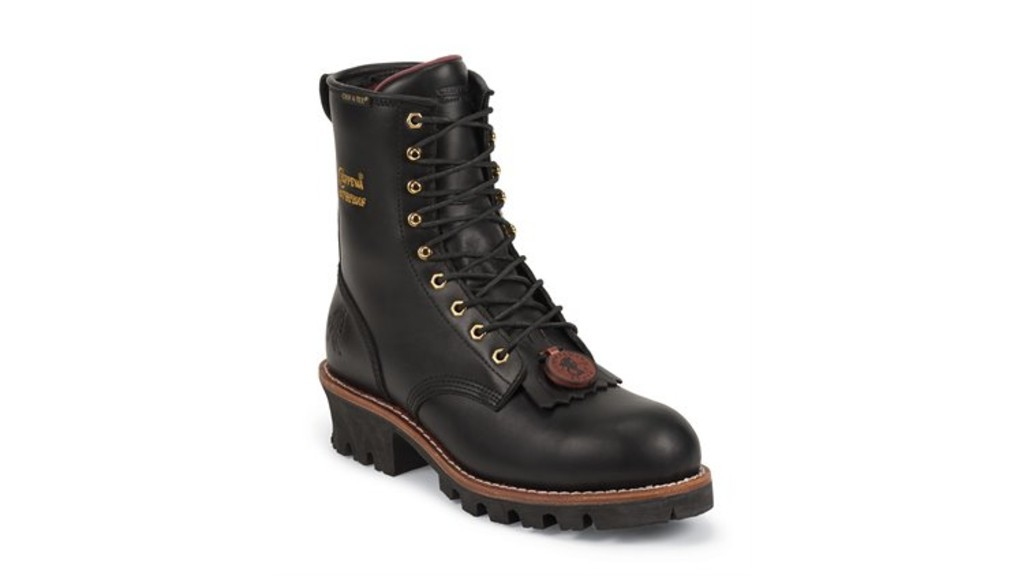 Chippewa's L73050 Tinsley steel toe logger boots.