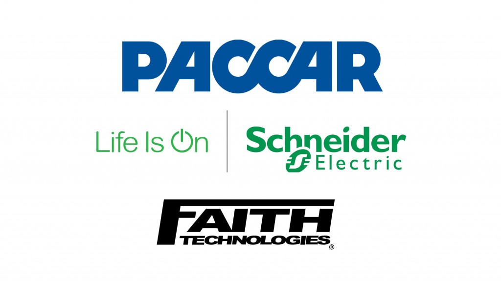 PACCAR partners with Schneider Electric and Faith Technologies to accelerate electric truck market