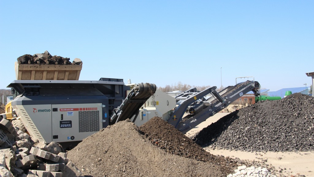 Metso Nordtrack crusher machine