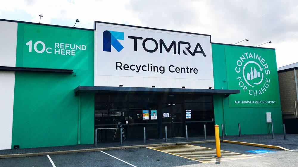 Tomra recycling center
