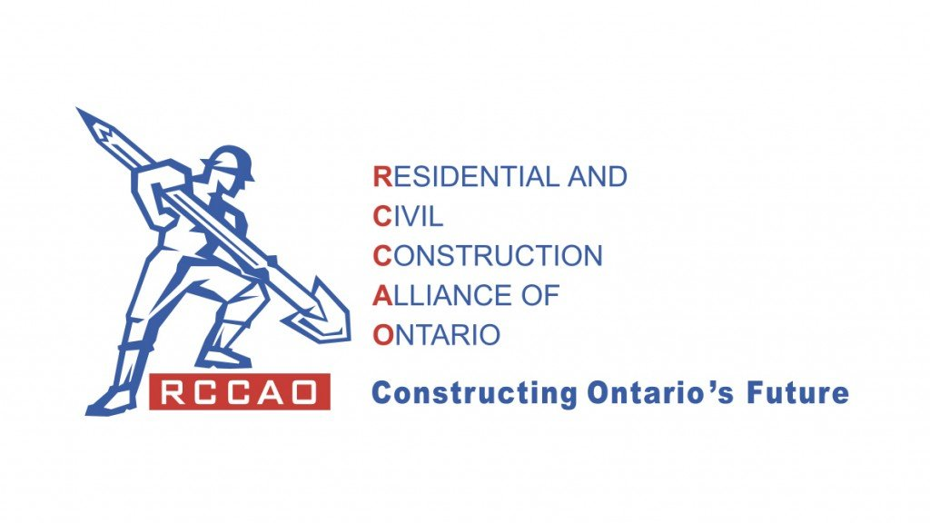 Residential and Civil Construction Alliance of Ontario (RCCAO) logo