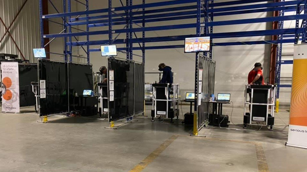 Serious Labs has partnered with the Alberta Construction Training Institute (ACTI) and the Building Trades of Alberta (BTA) to pilot a Mobile Elevated Work Platform (MEWP) operator certification program by using a Serious Labs' VR MEWP simulator.