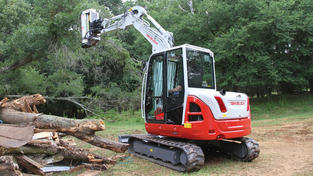 Takeuchi-US has launched the TB370 compact hydraulic excavator to its lineup.