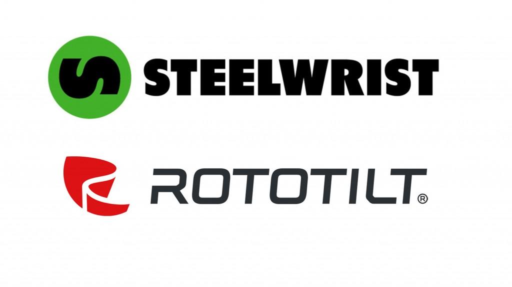 steel wrist and Rototilt logo