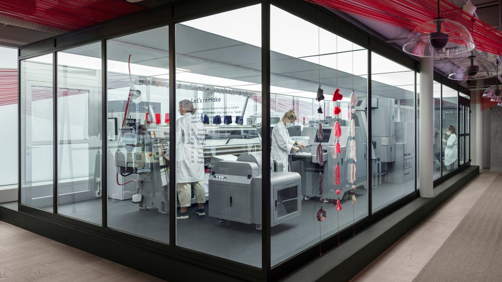 H&M turns unwanted clothing into new fashions with garment-to-garment recycling system