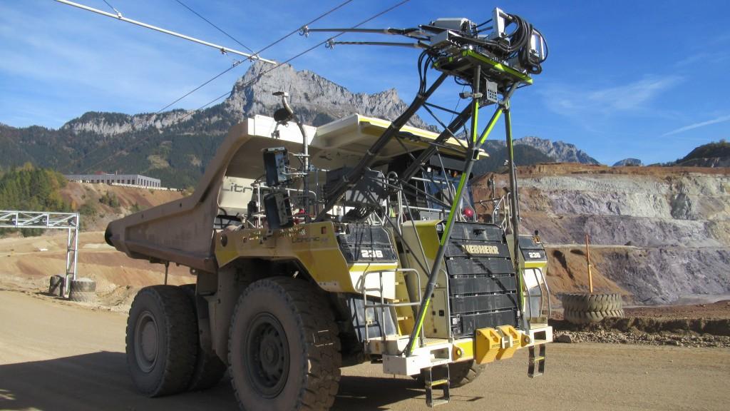 Liebherr Mining and VA Erzberg partner to develop 5-kilometre trolley line for mining truck fleet