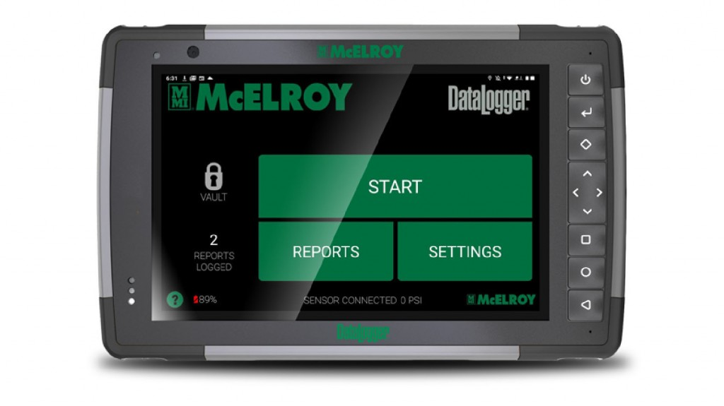 New DataLogger from McElroy features over 14 hours of battery life