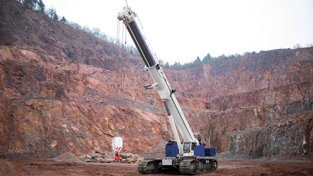 Tadano relaunches Demag telescopic boom crawler crane following acquisition