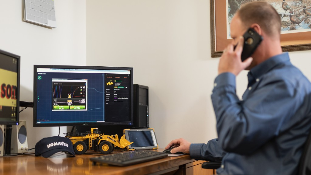 Digital platform from Komatsu offers remote operator support
