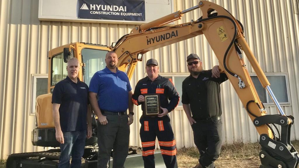 Hyundai Construction Equipment adds Alpine Equipment Repair to dealer network