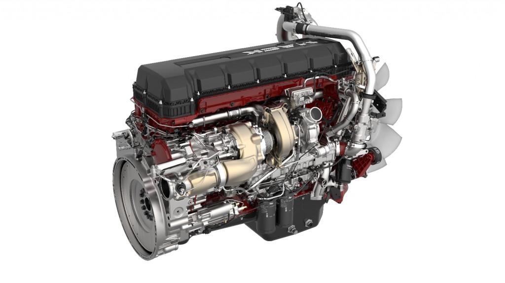 13-liter Mack MP 8HE engine