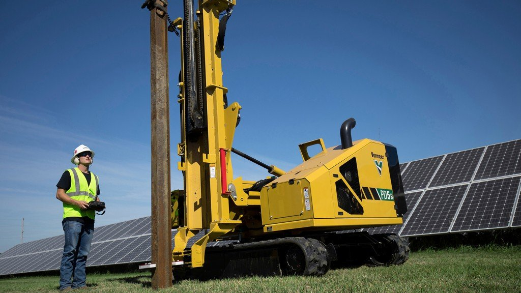 Vermeer PD5R pile driver