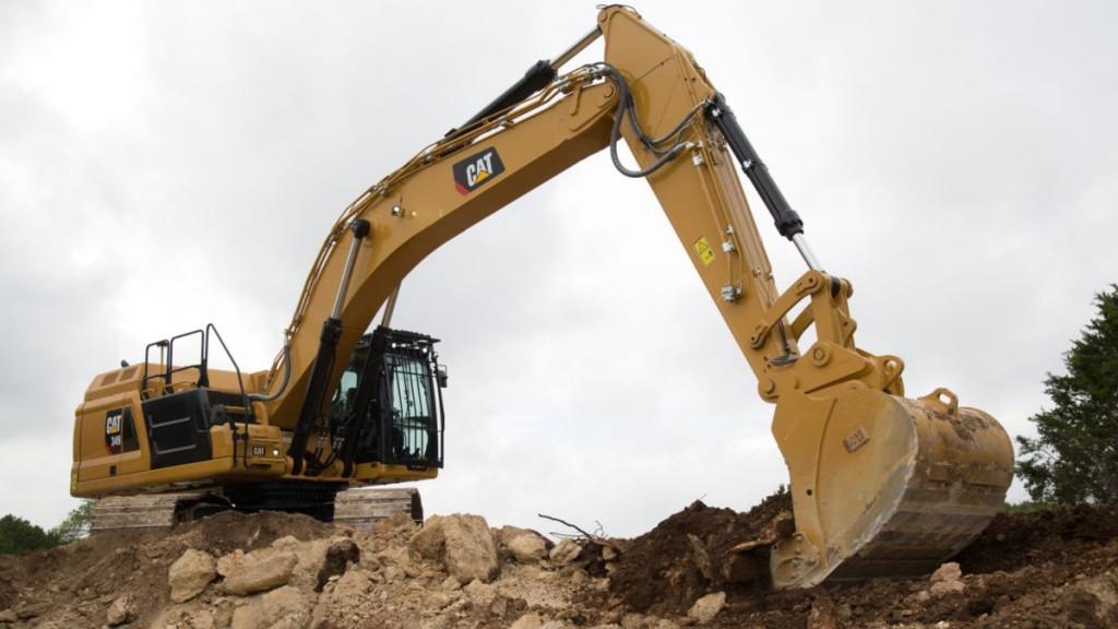 The Next Generation Cat® 349 excavator