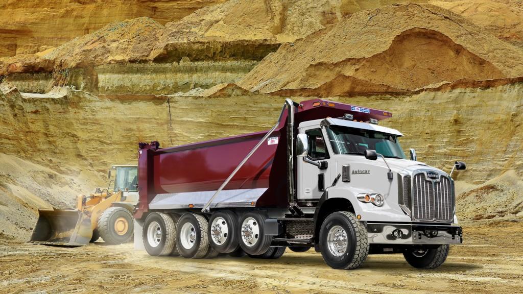Autocar severe-duty Class 8 work truck
