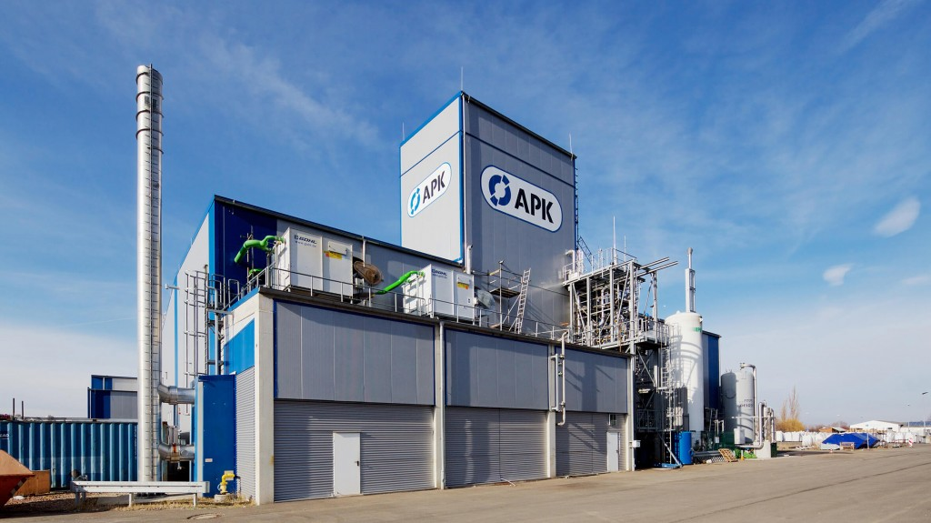 Advanced factory at APK AG in Merseburg, Germany