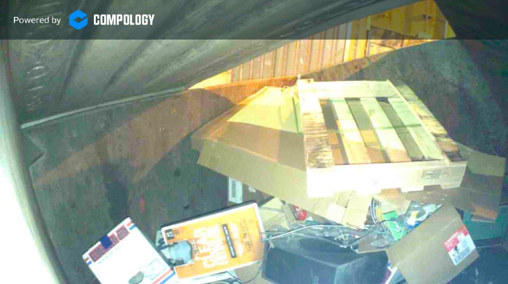 In-dumpster technology from Compology sends text messages when unwanted material enters a commercial dumpster.