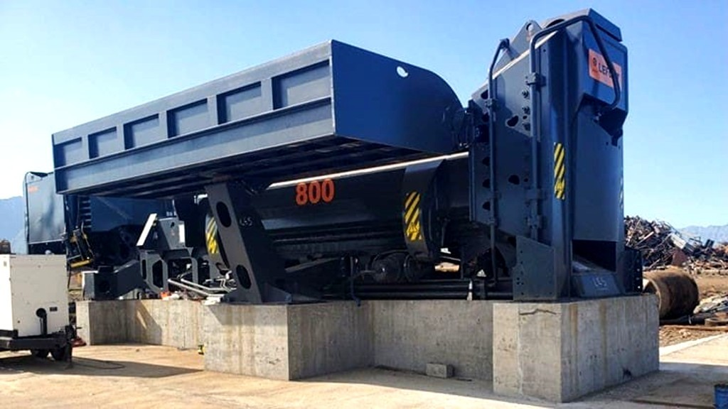 LEFORT shear baler boosts production and decreases costs for Dimeca Metals in Mexico