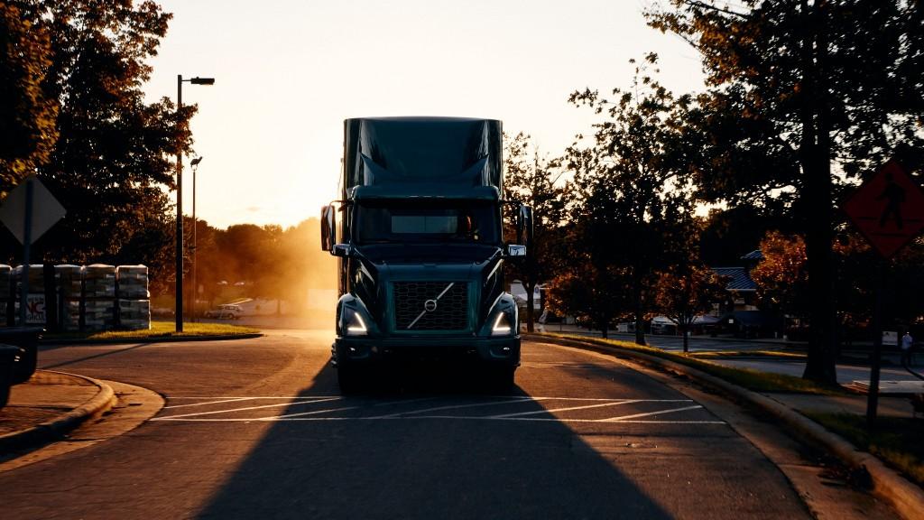 Volvo vnr electric truck