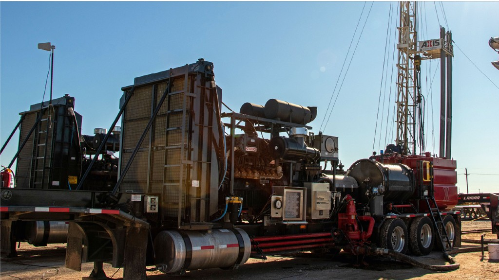 MTU power pushes drillout rigs to success in Texas operation