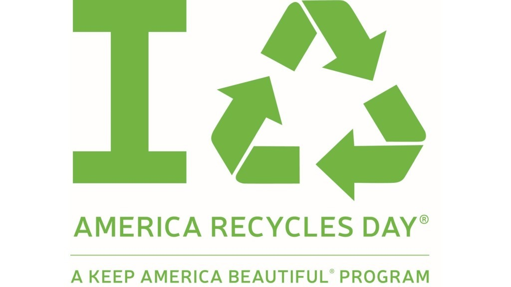America Recycles Day banner