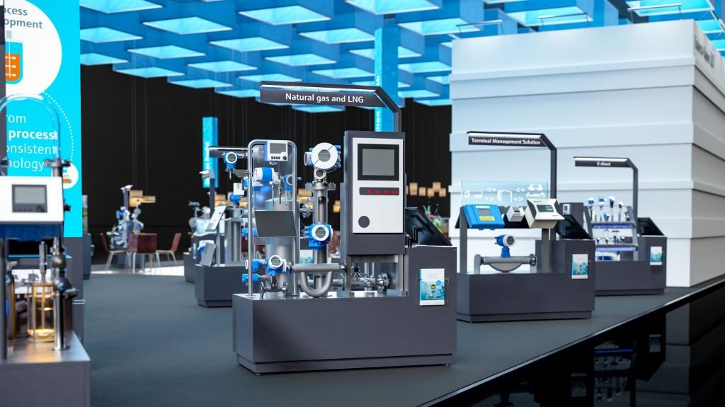 Endress+Hauser virtual fair booths