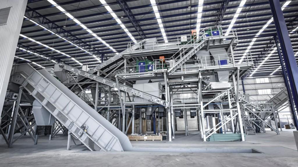 New Stadler sorting plant in Mexico