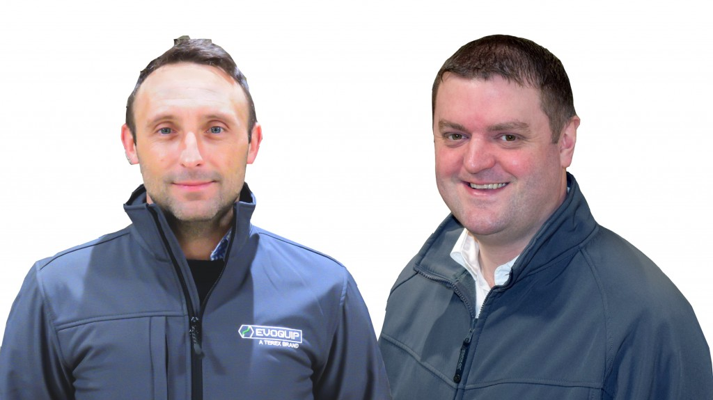 new business line directors for terex Finlay and EvoQuip