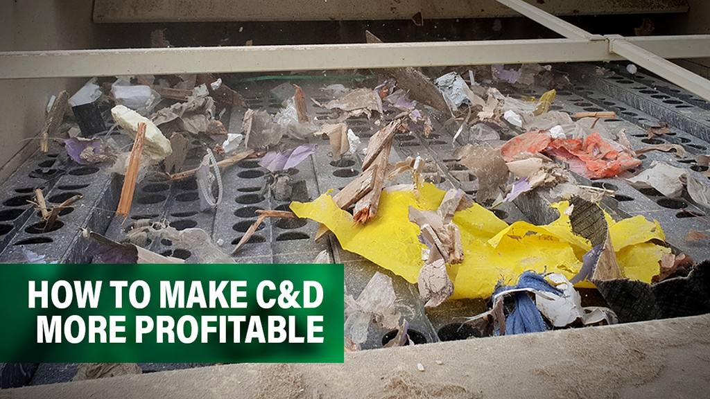 How to streamline C&D waste processing to increase profitability